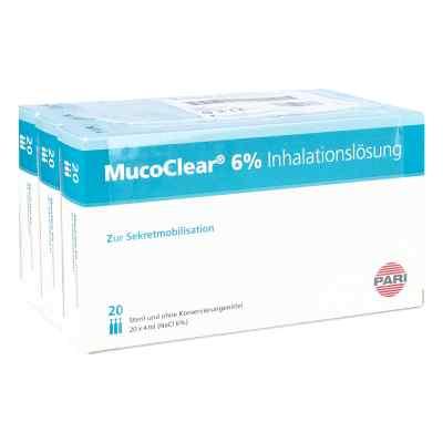 Mucoclear 6% Nacl Inhalationslösung  bei versandapo.de bestellen