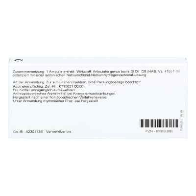 Articulatio Genus Gl D 8 Ampullen  bei versandapo.de bestellen