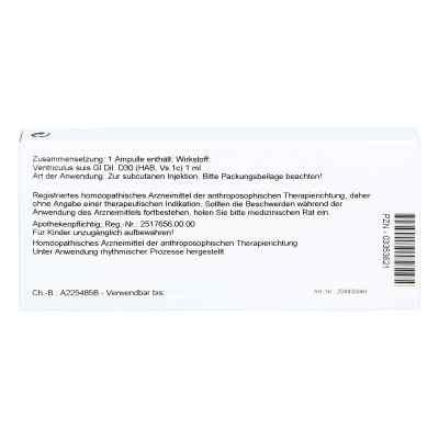 Ventriculus Gl D 30 Ampullen  bei versandapo.de bestellen