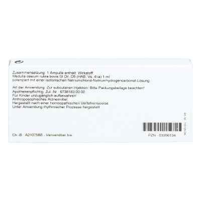 Medulla Ossium Gl D 5 Ampullen  bei versandapo.de bestellen