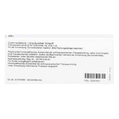 Diencephalon Gl D 30 Ampullen  bei versandapo.de bestellen