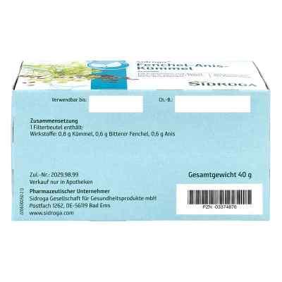 Sidroga Fenchel Anis Kümmel Tee Filterbeutel  bei versandapo.de bestellen