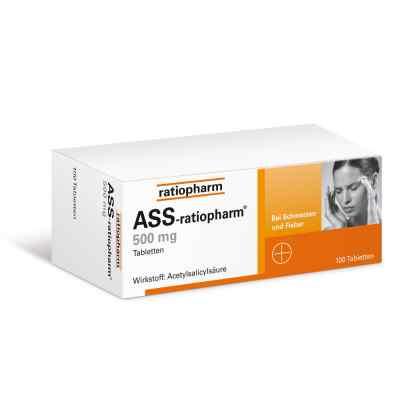 ASS-ratiopharm 500mg  bei versandapo.de bestellen