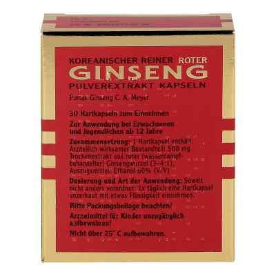 Roter Ginseng Extrakt Kapseln  bei versandapo.de bestellen