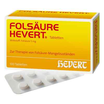 Folsäure Hevert Tabletten  bei versandapo.de bestellen