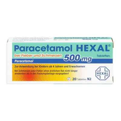 Paracetamol 500mg HEXAL bei Fieber und Schmerzen  bei versandapo.de bestellen