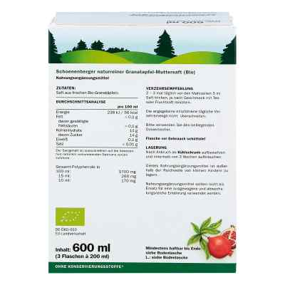 Granatapfel Muttersaft Schoenenberger Heilpfl.s.  bei versandapo.de bestellen