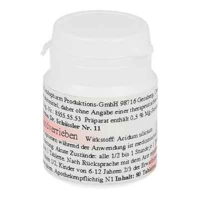 Silicea D 6 Schüssler Nummer 11  Tabletten  bei versandapo.de bestellen