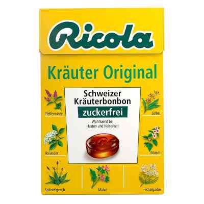Ricola ohne Zucker Box Kräuter Bonbons  bei versandapo.de bestellen
