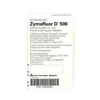 Zymafluor D 500  bei versandapo.de bestellen
