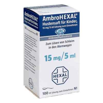 AmbroHEXAL Hustensaft für Kinder 15mg/5ml  bei versandapo.de bestellen