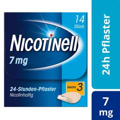 Nicotinell 7 mg (ehemals 17,5 mg) 24-Stunden-Pflaster  bei versandapo.de bestellen