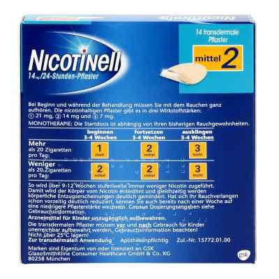 Nicotinell 14 mg (ehemals 35 mg) 24-Stunden-Pflaster  bei versandapo.de bestellen