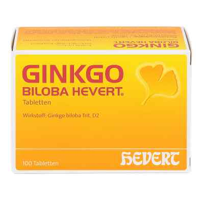 Ginkgo Biloba Hevert Tabletten  bei versandapo.de bestellen