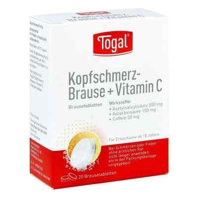 Togal Kopfschmerz-Brause+Vitamin C  bei versandapo.de bestellen