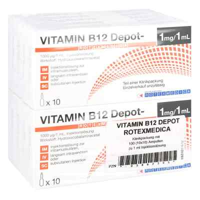 Vitamin B12 Depot Rotexmedica Injektionslösung  bei versandapo.de bestellen