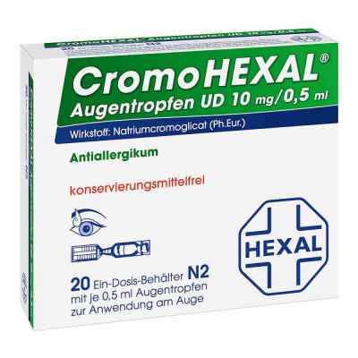 CromoHEXAL Augentropfen UD  bei versandapo.de bestellen