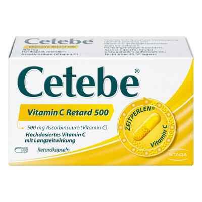 Cetebe Vitamin C Retardkapseln 500 mg  bei versandapo.de bestellen