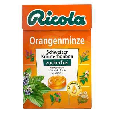 Ricola ohne Zucker  Box Orangenminze Bonbons  bei versandapo.de bestellen
