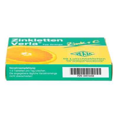 Zinkletten Verla Orange Lutschtabletten  bei versandapo.de bestellen