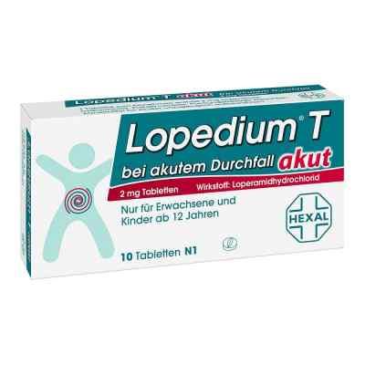 Lopedium T akut bei akutem Durchfall  bei versandapo.de bestellen