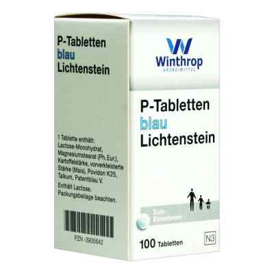 P Tabletten blau 8 mm Teilk.  bei versandapo.de bestellen