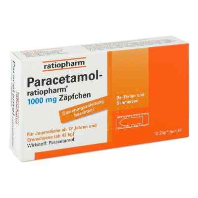 Paracetamol-ratiopharm 1000mg  bei versandapo.de bestellen