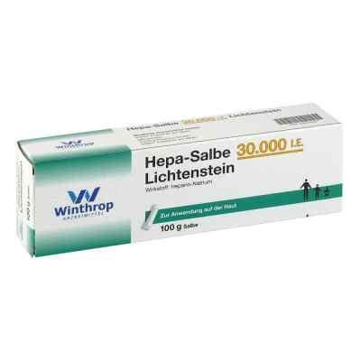 Hepa-Salbe 30000 internationale Einheiten Lichtenstein  bei versandapo.de bestellen