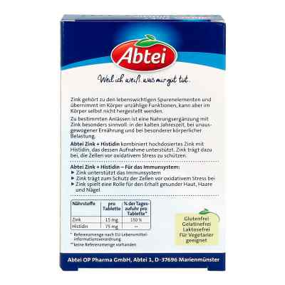 Abtei Zink+histidin Tabletten  bei versandapo.de bestellen