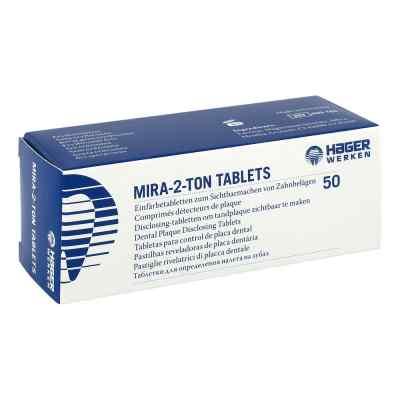Mira 2 Ton Plaque Einfärbe Tabletten  bei versandapo.de bestellen