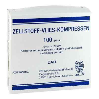 Zellstoff Vlies Kompressen 10x20cm unsteril  bei versandapo.de bestellen