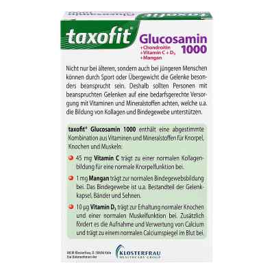 Taxofit Glucosamin 1000 Tabletten  bei versandapo.de bestellen