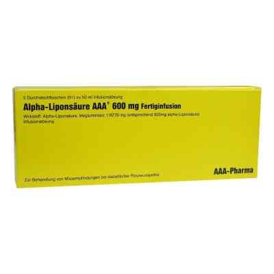 Alpha Liponsäure Aaa 600 mg Injektionsflaschen  bei versandapo.de bestellen