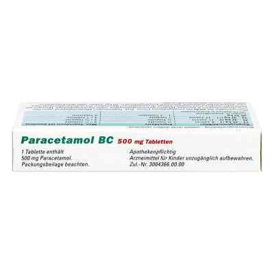 Paracetamol BC 500mg  bei versandapo.de bestellen