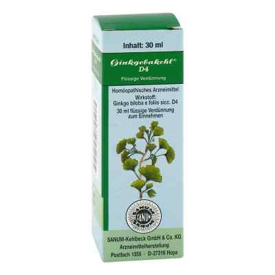 Ginkgobakehl D 4 Tropfen  bei versandapo.de bestellen