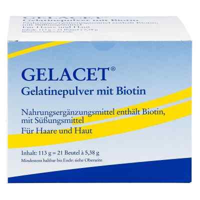 Gelacet Gelatinepulver mit Biotin im Beutel  bei versandapo.de bestellen