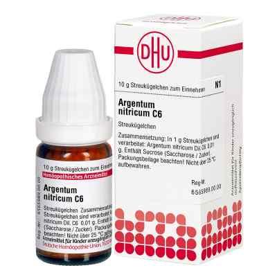 Argentum Nitricum C 6 Globuli  bei versandapo.de bestellen