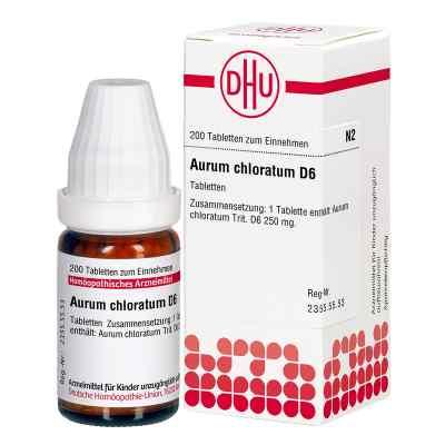Aurum Chloratum D 6 Tabletten  bei versandapo.de bestellen