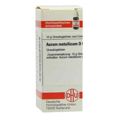 Aurum Metallicum D 60 Globuli  bei versandapo.de bestellen