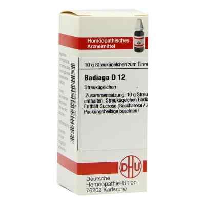 Badiaga D 12 Globuli  bei versandapo.de bestellen