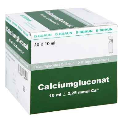 Calciumgluconat 10% Mpc Injektionslösung  bei versandapo.de bestellen