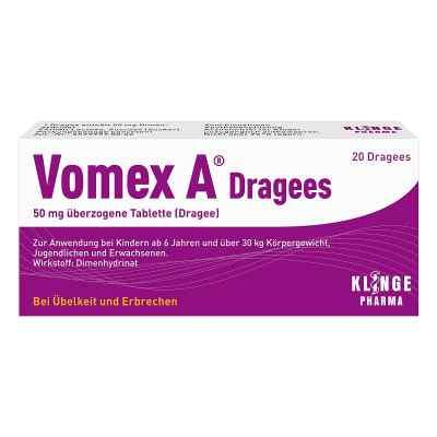Vomex A Dragees  bei versandapo.de bestellen