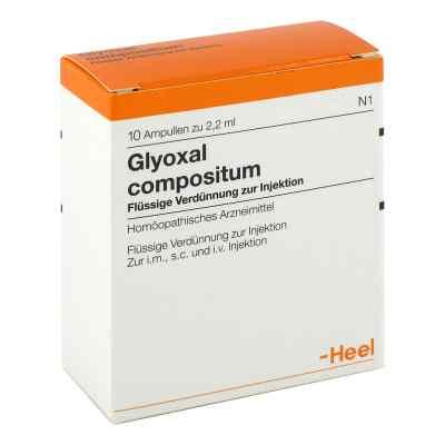 Glyoxal compositum Ampullen  bei versandapo.de bestellen
