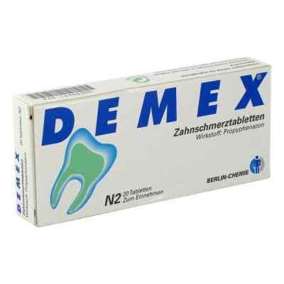 DEMEX Zahnschmerztabletten  bei versandapo.de bestellen