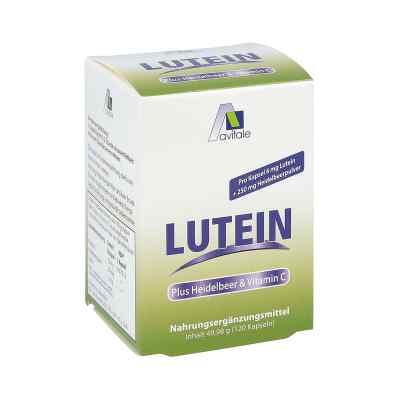 Lutein Kapseln 6 mg + Heidelbeer  bei versandapo.de bestellen