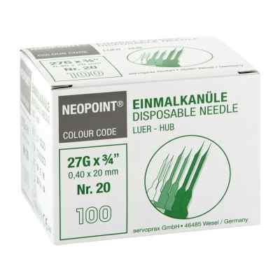 Kanülen Neopoint 20 0,40x20  bei versandapo.de bestellen