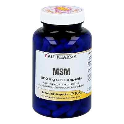 Msm 500 mg Gph Kapseln  bei versandapo.de bestellen