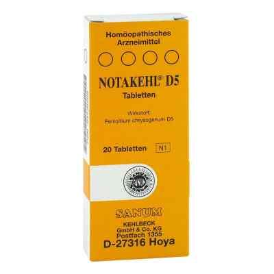 Notakehl D 5 Tabletten  bei versandapo.de bestellen
