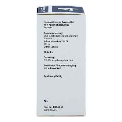 Biochemie Orthim 4 Kalium chloratum D 6 Tabletten  bei versandapo.de bestellen
