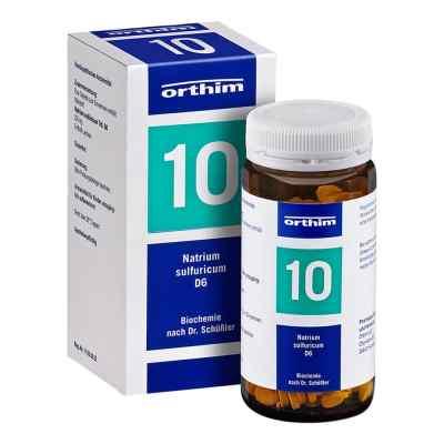 Biochemie Orthim 10 Natrium sulfuricum D6 Tabletten  bei versandapo.de bestellen